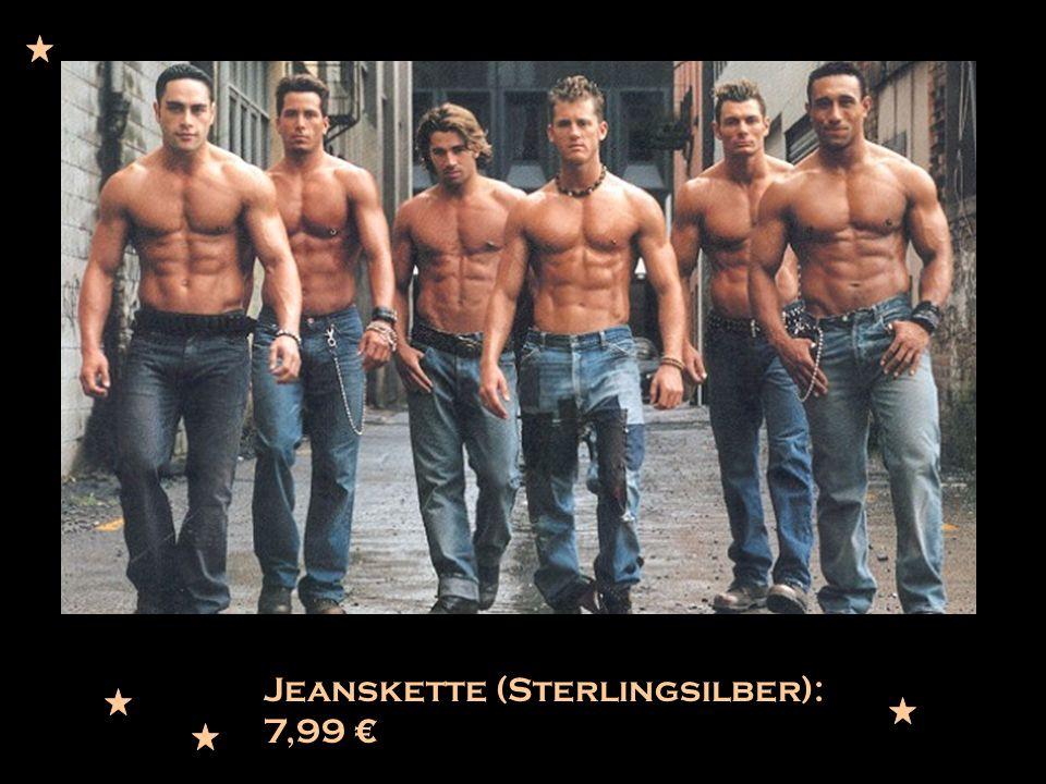 Jeanskette (Sterlingsilber): 7,99 €