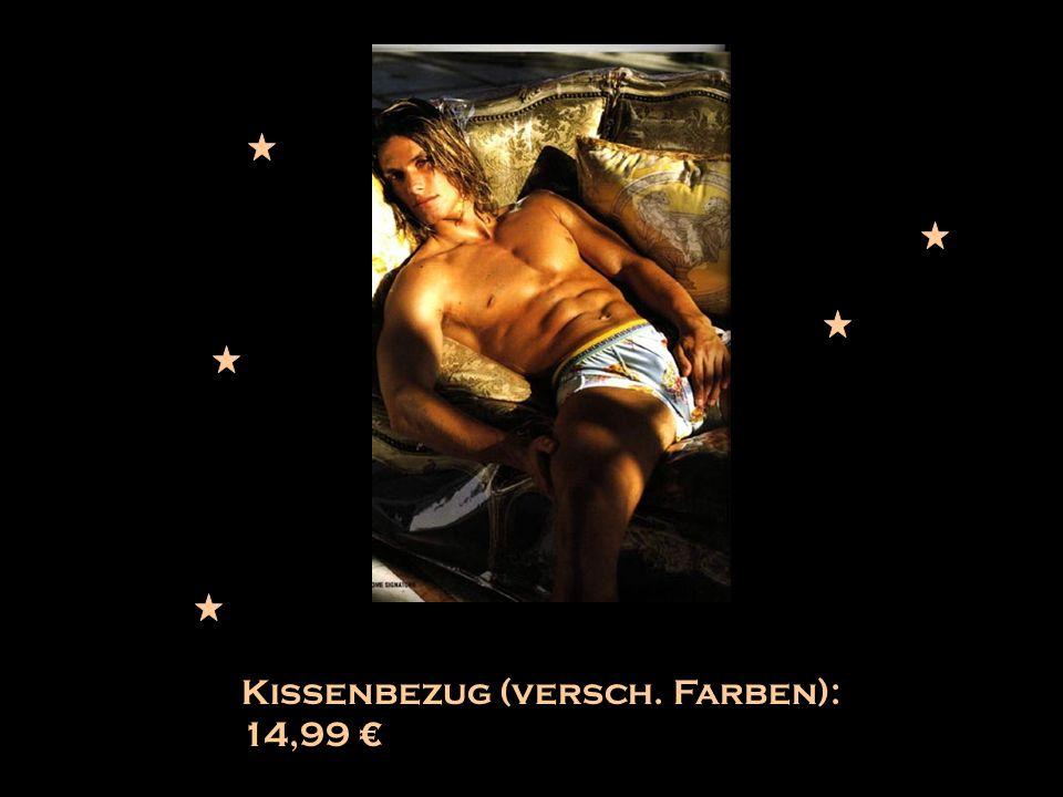 Kissenbezug (versch. Farben): 14,99 €