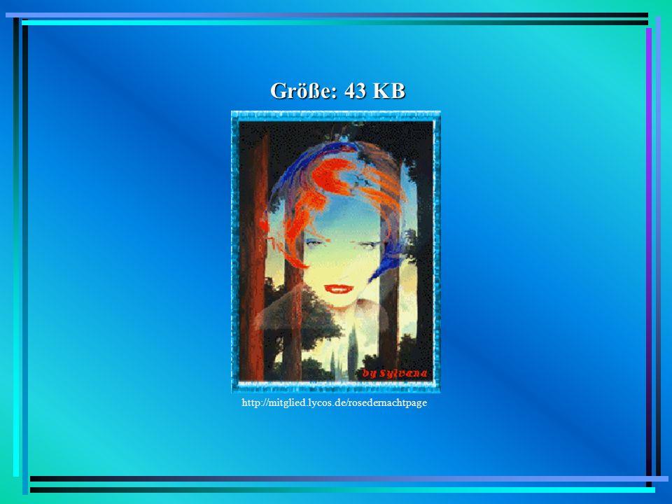 Größe: 43 KB http://mitglied.lycos.de/rosedernachtpage Beispiel