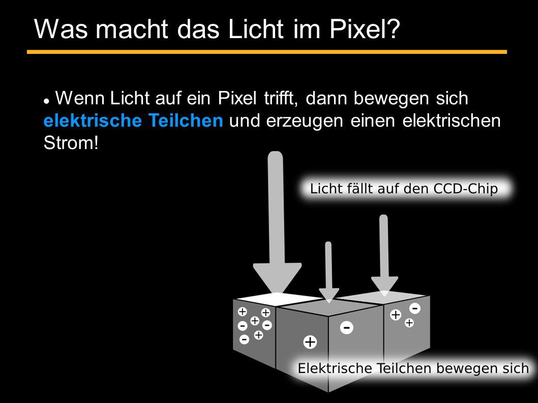 Was macht das Licht im Pixel