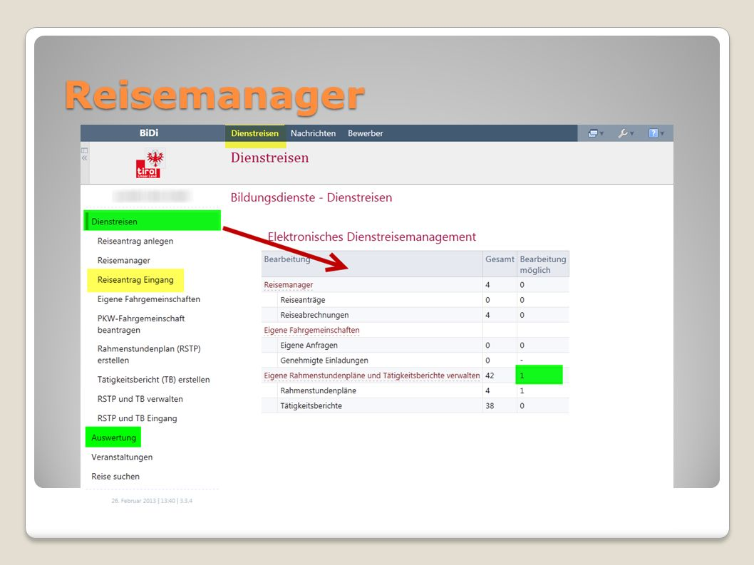 Reisemanager