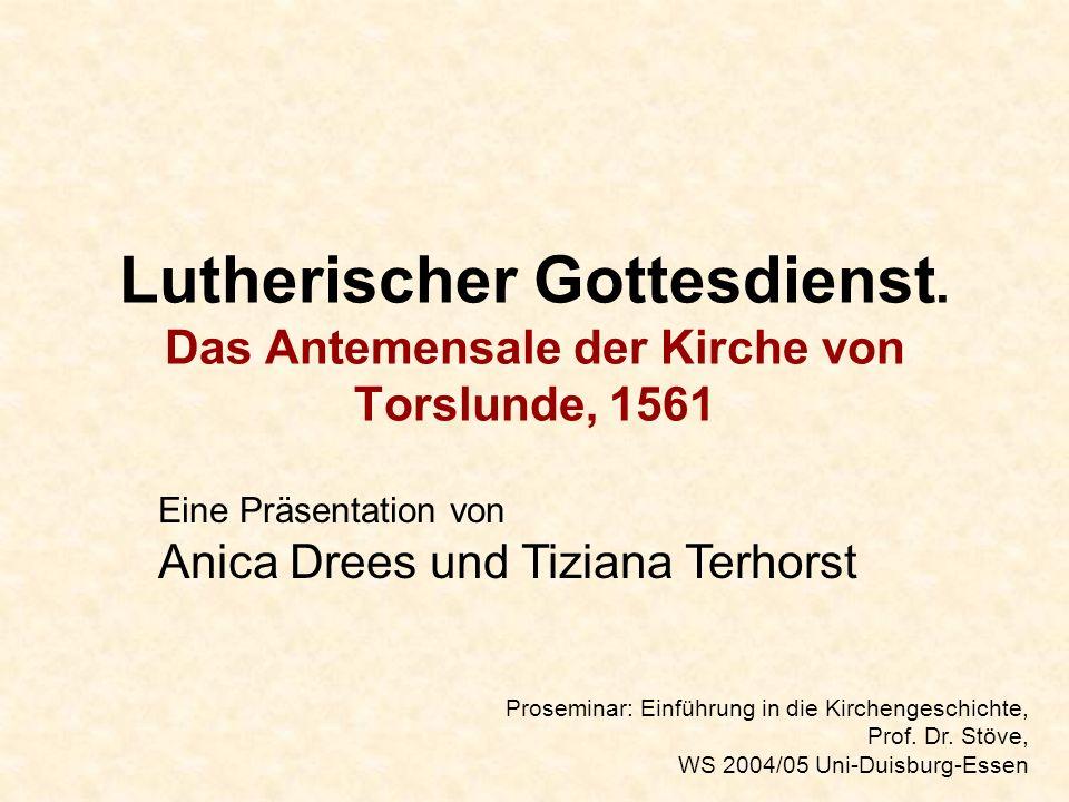 Lutherischer Gottesdienst