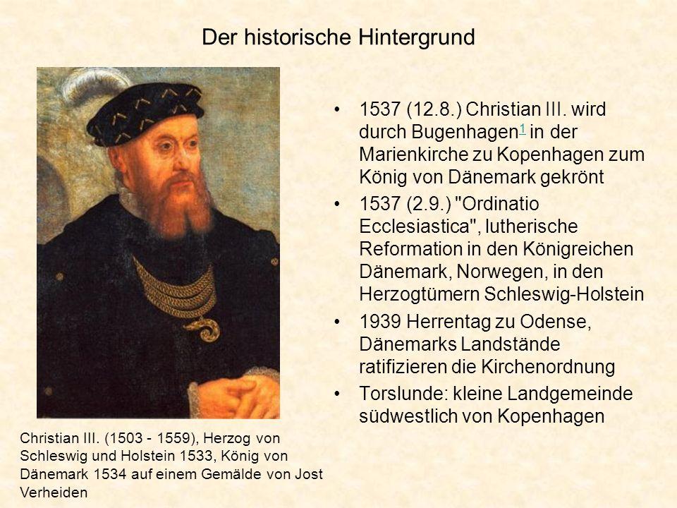 Der historische Hintergrund