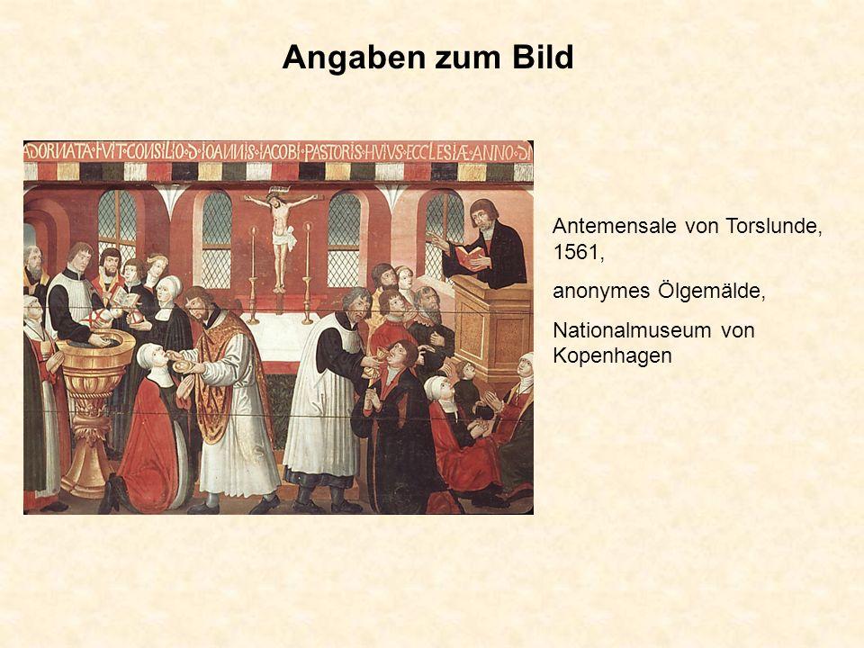 Angaben zum Bild Antemensale von Torslunde, 1561, anonymes Ölgemälde,
