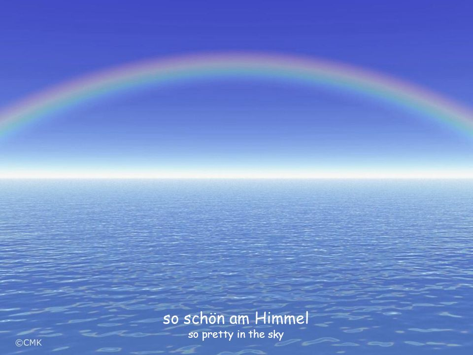 so schön am Himmel so pretty in the sky