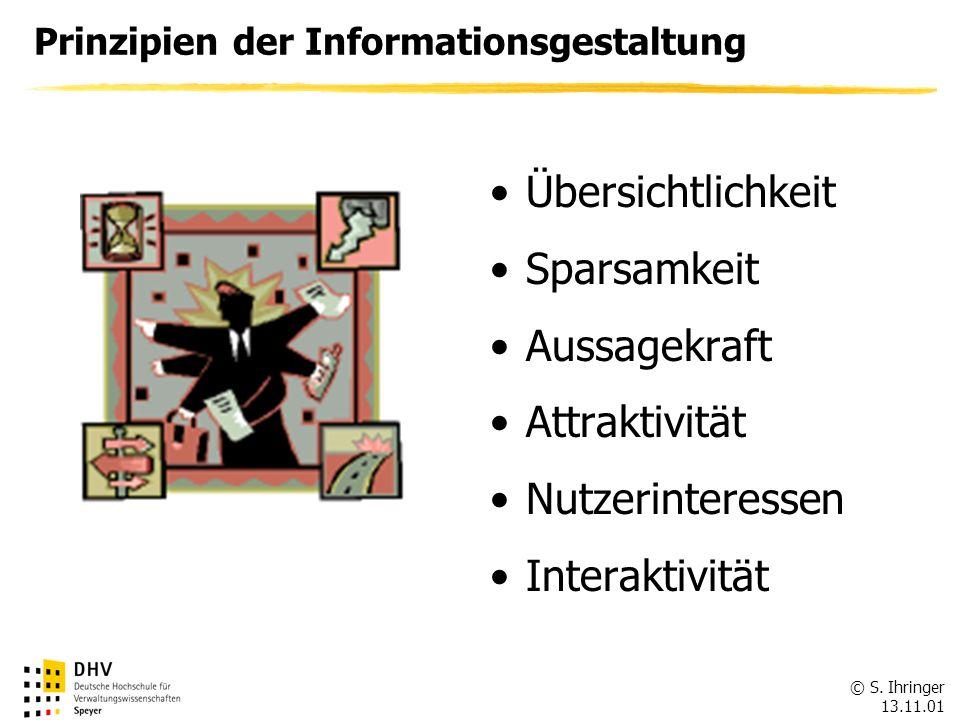 Prinzipien der Informationsgestaltung