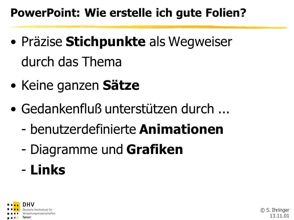 PowerPoint: Wie erstelle ich gute Folien