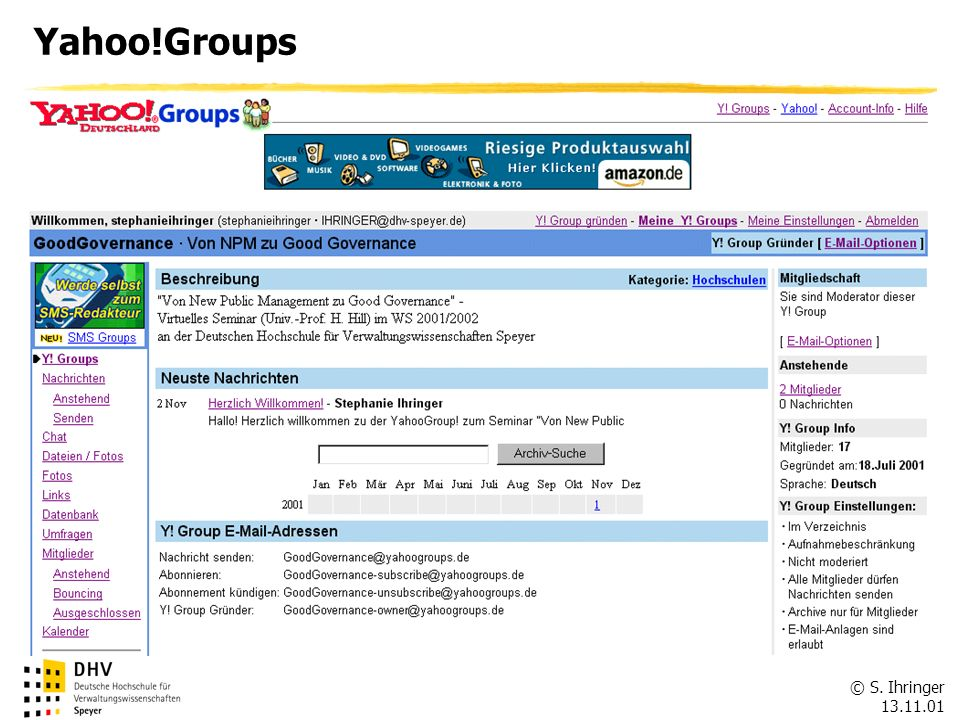 Yahoo!Groups