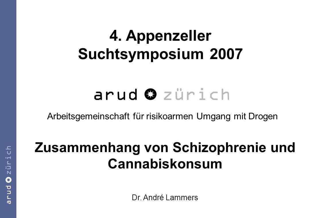 Zusammenhang von Schizophrenie und Cannabiskonsum