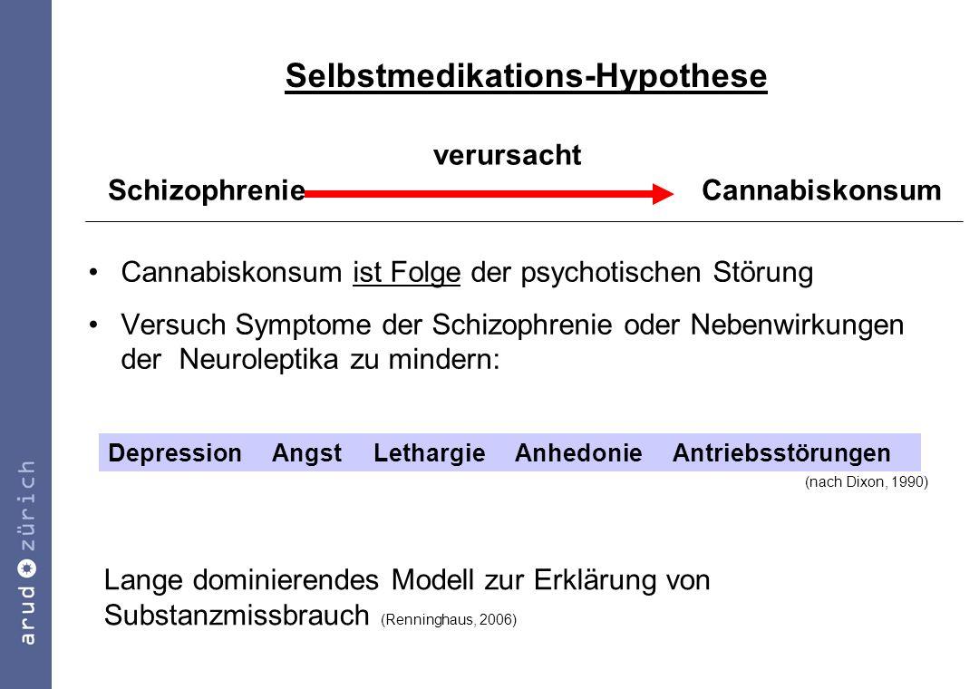 Selbstmedikations-Hypothese