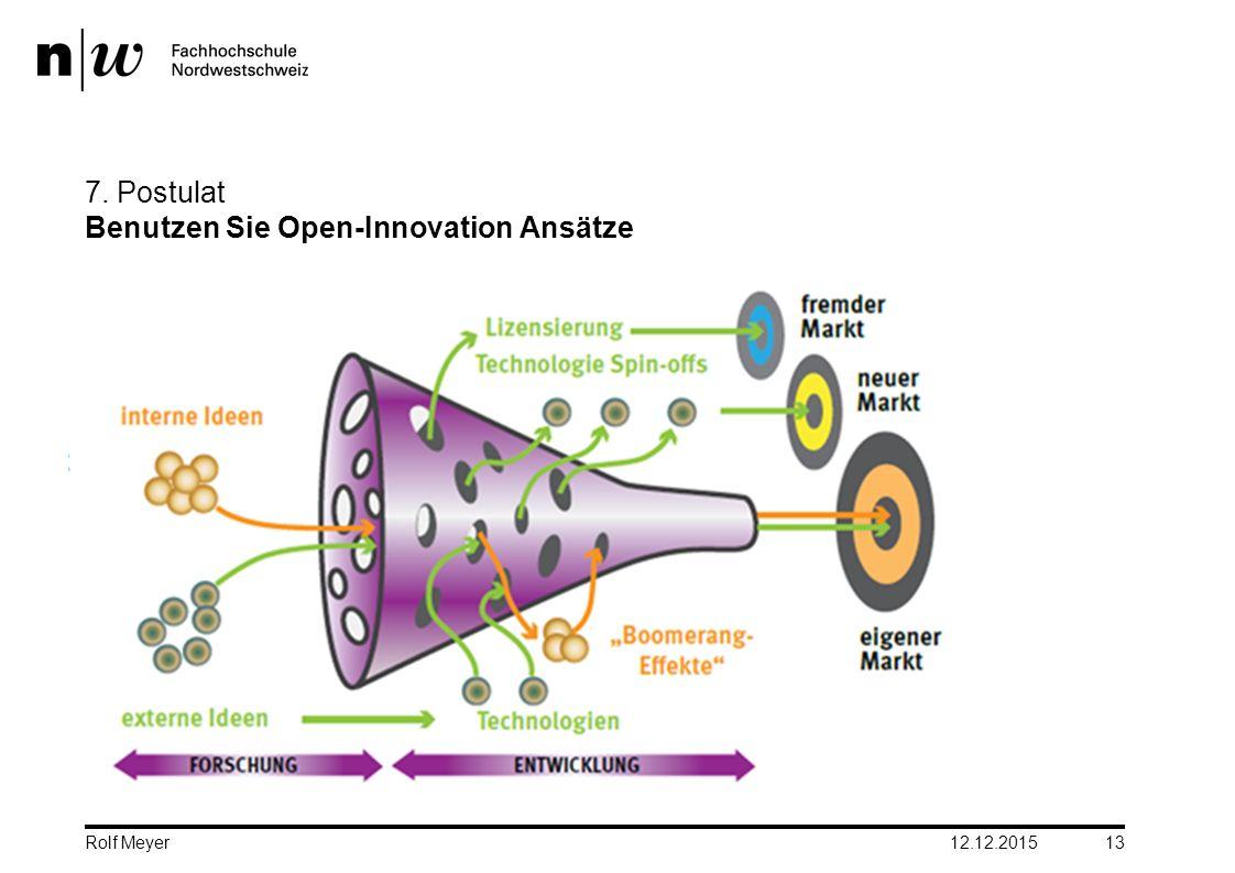 7. Postulat Benutzen Sie Open-Innovation Ansätze
