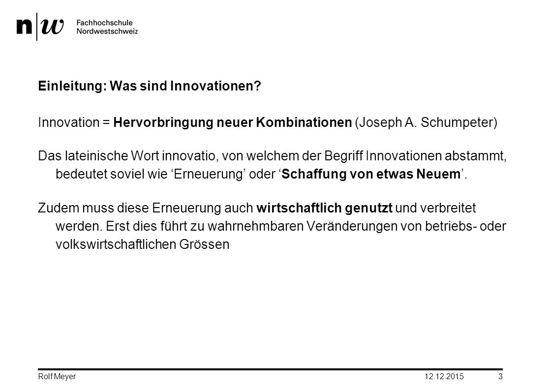 Einleitung: Was sind Innovationen