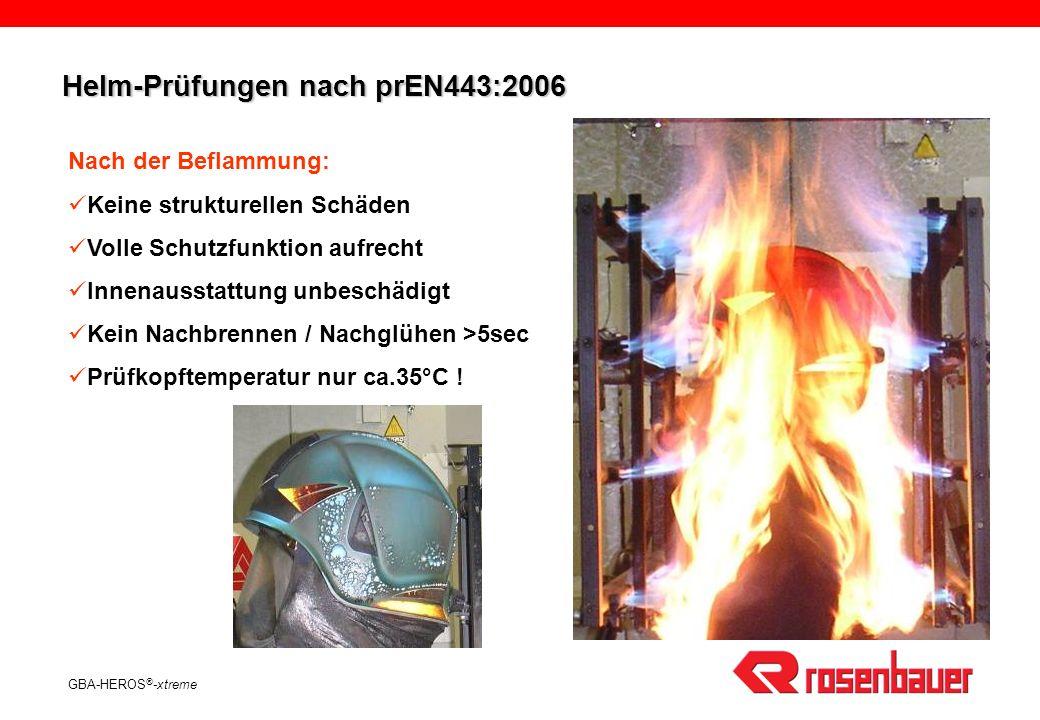 Helm-Prüfungen nach prEN443:2006