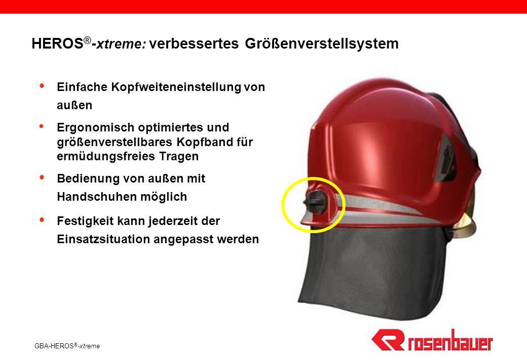 HEROS®-xtreme: verbessertes Größenverstellsystem