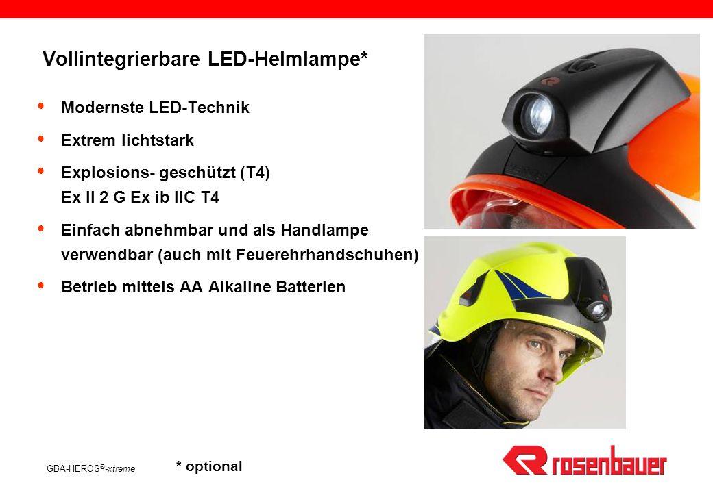 Vollintegrierbare LED-Helmlampe*