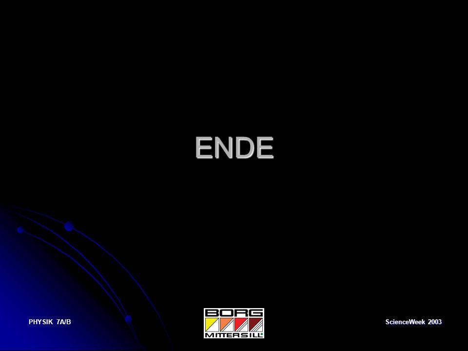 ENDE PHYSIK 7A/B