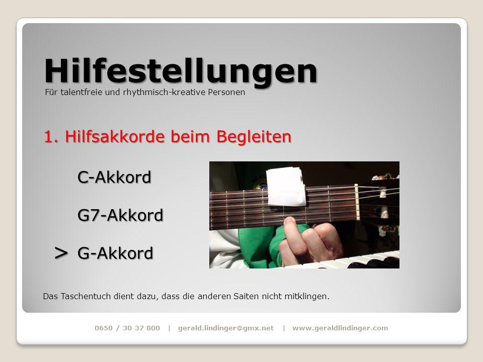 0650 / 30 37 800 | gerald.lindinger@gmx.net | www.geraldlindinger.com
