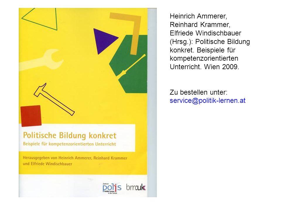 Heinrich Ammerer, Reinhard Krammer, Elfriede Windischbauer (Hrsg
