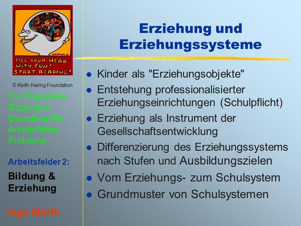 Erziehung und Erziehungssysteme