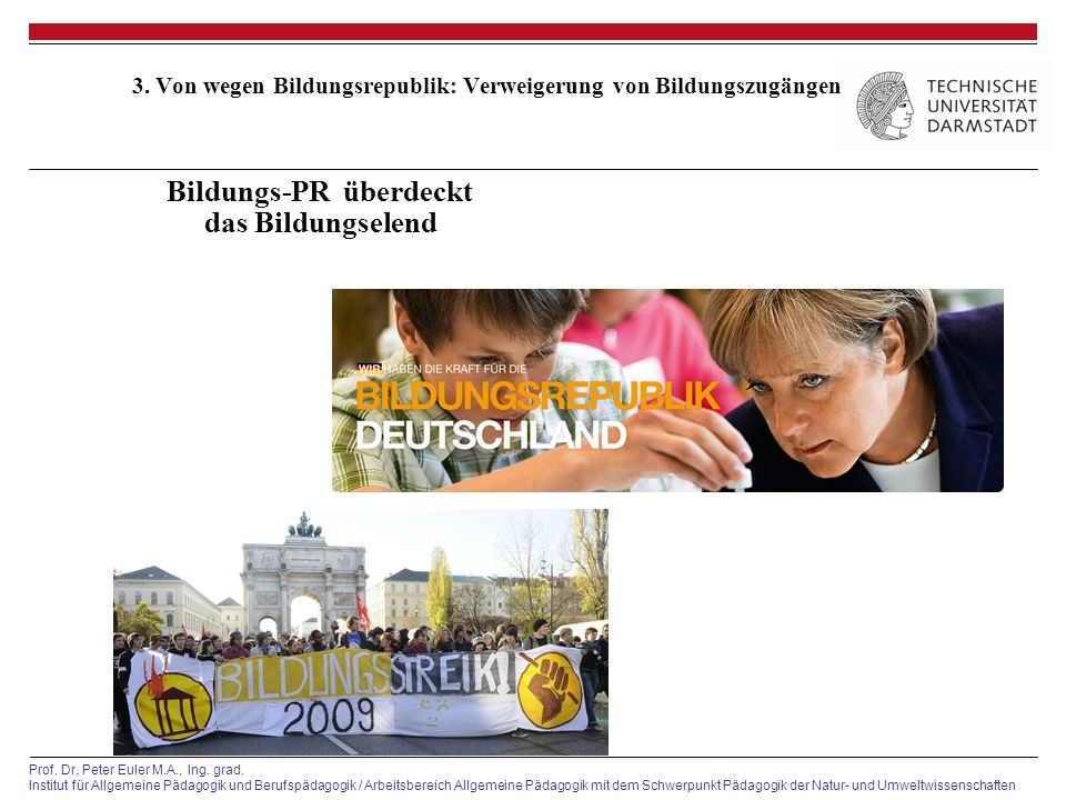 3. Von wegen Bildungsrepublik: Verweigerung von Bildungszugängen