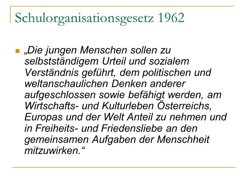 Schulorganisationsgesetz 1962