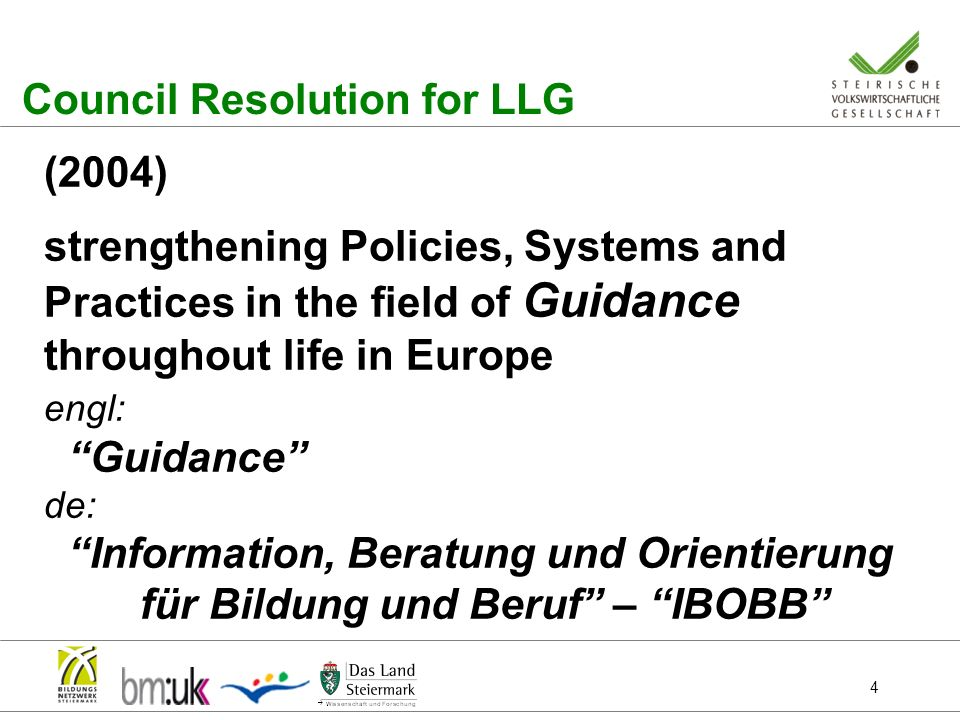 Council Resolution for LLG