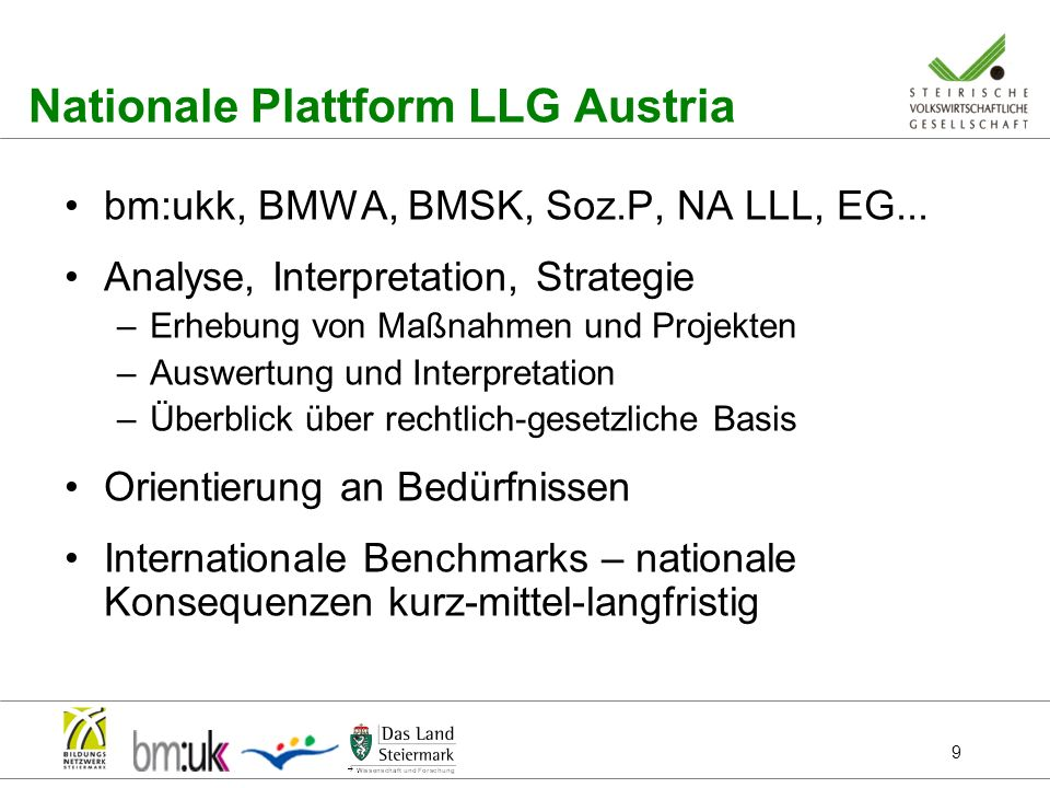Nationale Plattform LLG Austria