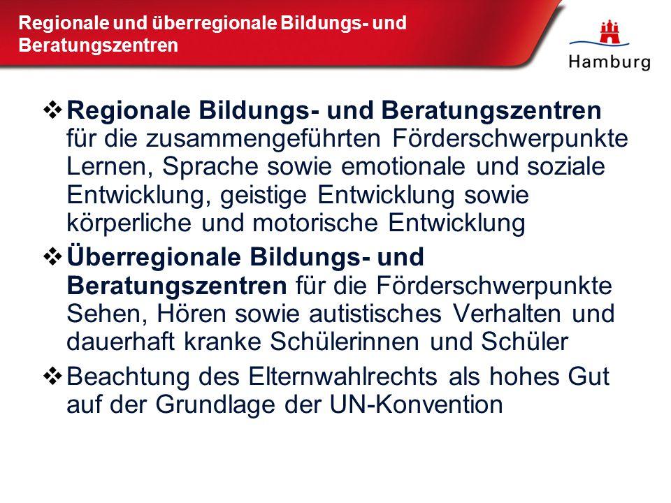 Regionale und überregionale Bildungs- und Beratungszentren