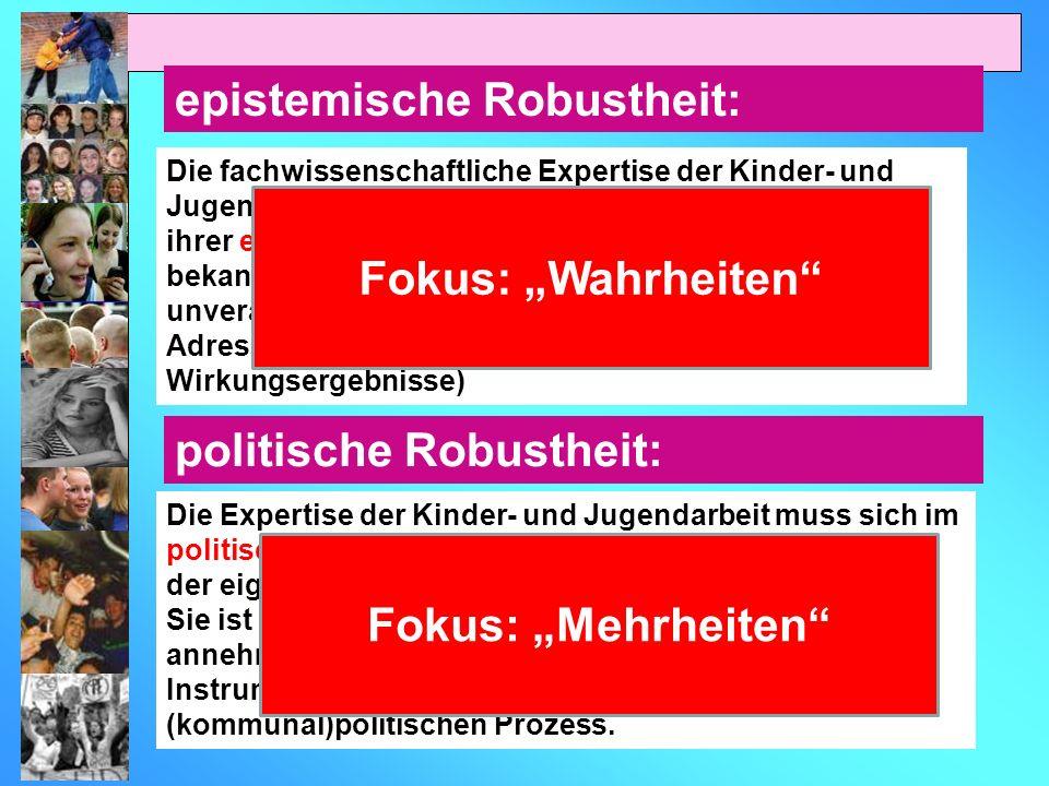 """Fokus: """"Wahrheiten Fokus: """"Mehrheiten"""