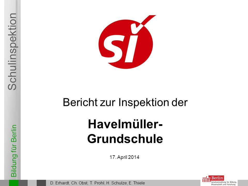 28. März 2017 D. Erhardt, Ch. Obst, T. Prohl, H. Schulze, E. Thiele