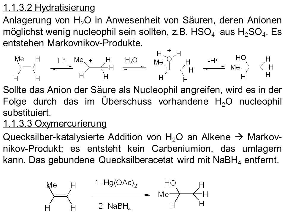 1.1.3.2 Hydratisierung