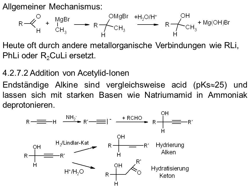 Allgemeiner Mechanismus: