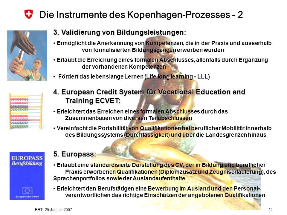 Die Instrumente des Kopenhagen-Prozesses - 2