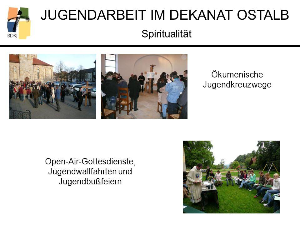 Spiritualität Ökumenische Jugendkreuzwege Open-Air-Gottesdienste,