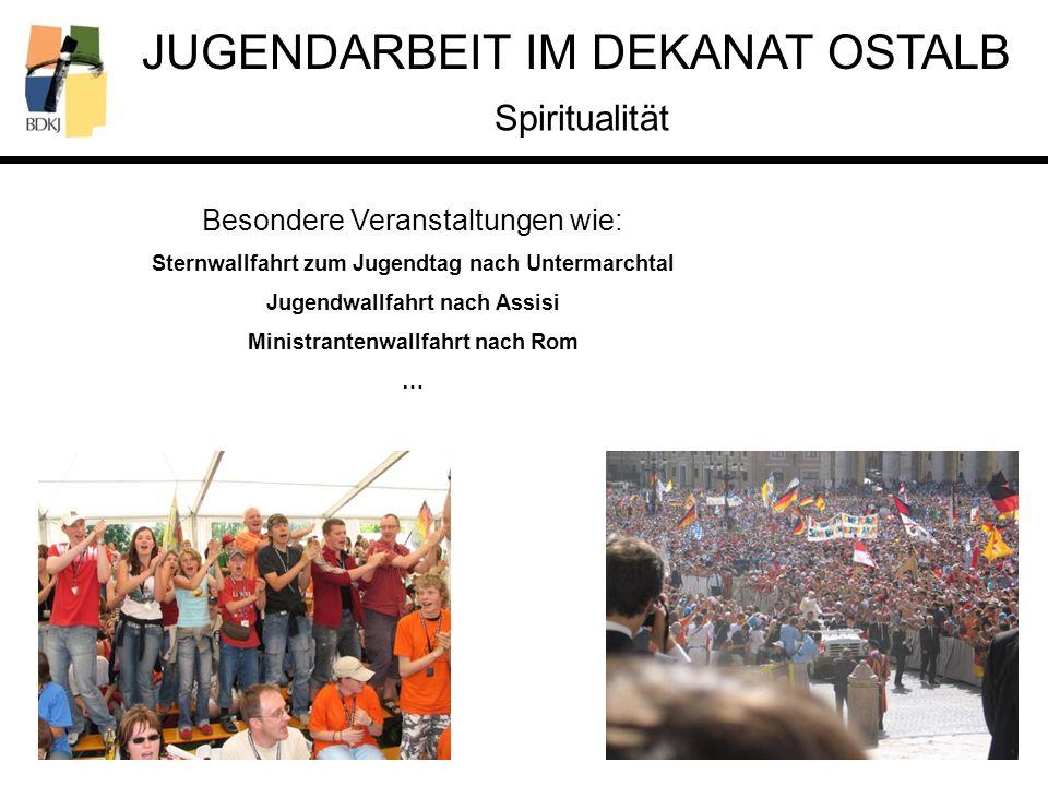 Spiritualität Besondere Veranstaltungen wie: