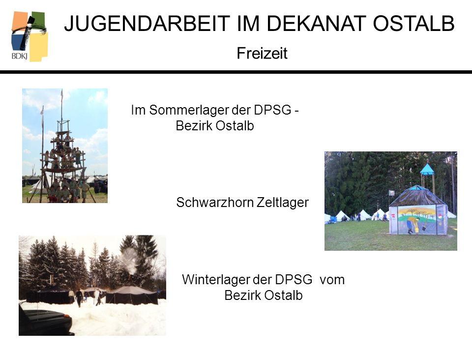 Freizeit Im Sommerlager der DPSG - Bezirk Ostalb Schwarzhorn Zeltlager