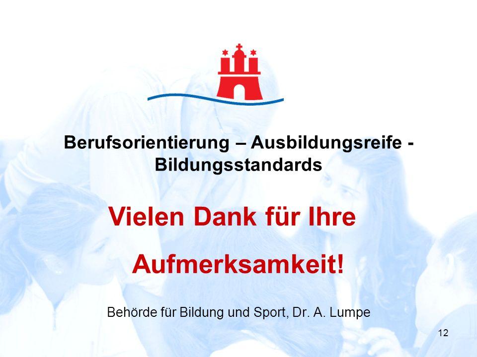Behörde für Bildung und Sport, Dr. A. Lumpe