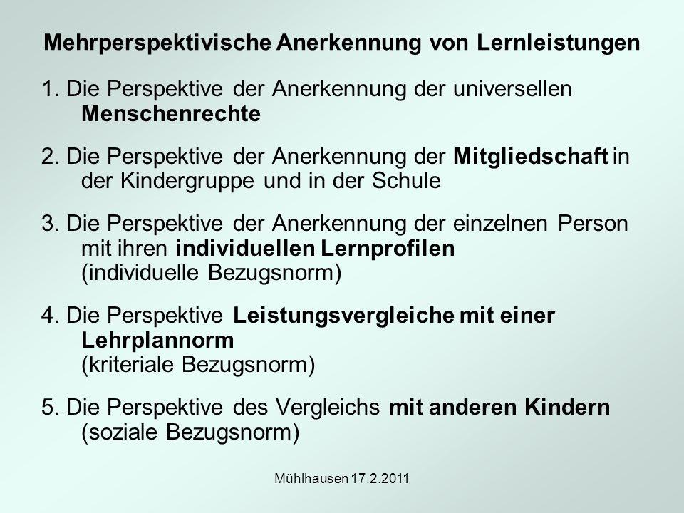 Mehrperspektivische Anerkennung von Lernleistungen