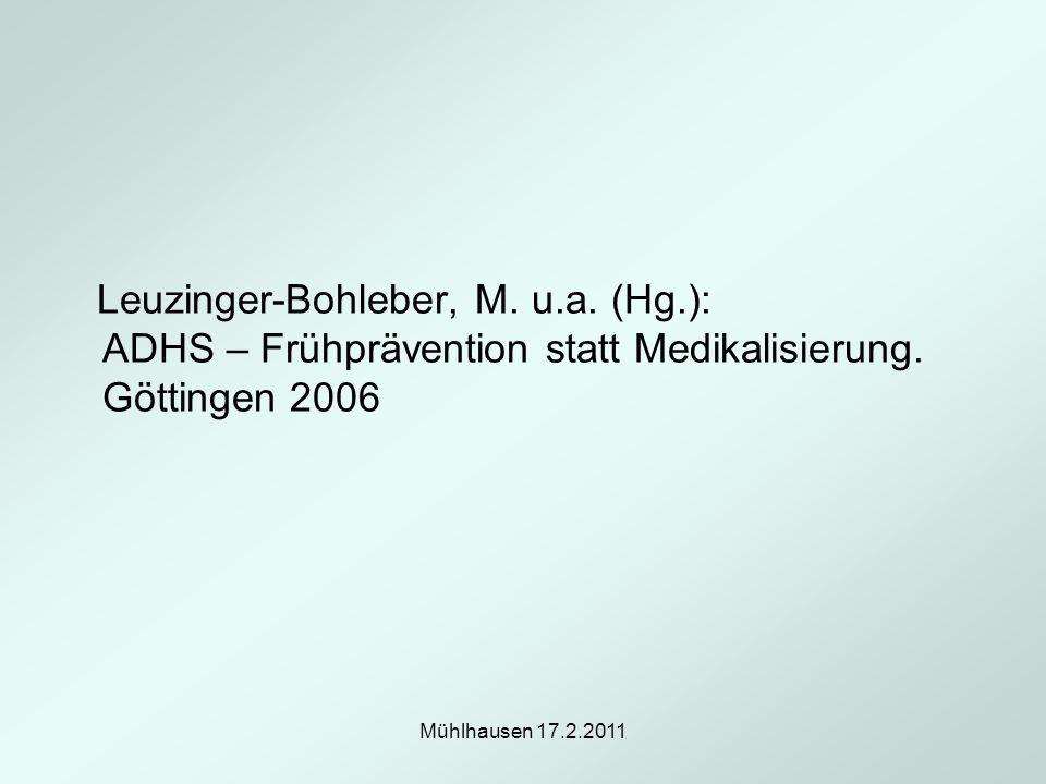 Leuzinger-Bohleber, M. u. a. (Hg