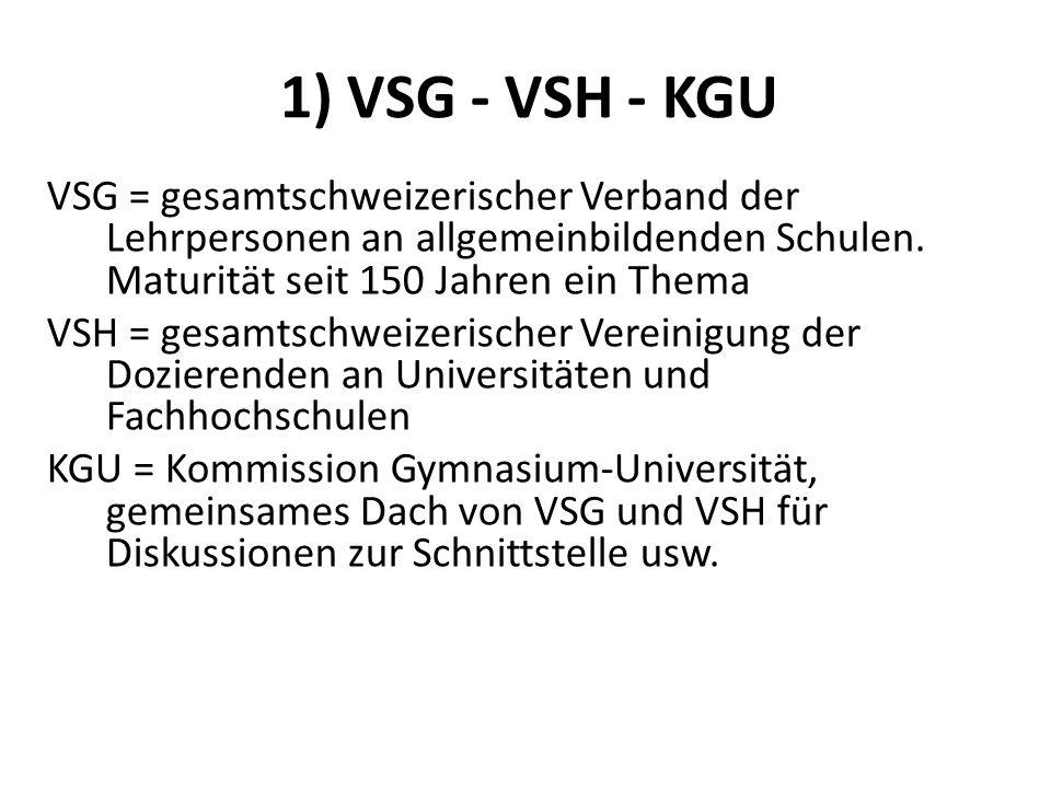 1) VSG - VSH - KGU