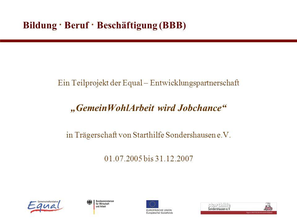 Bildung · Beruf · Beschäftigung (BBB)