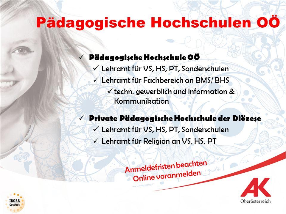 Pädagogische Hochschulen OÖ
