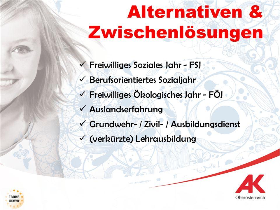 Alternativen & Zwischenlösungen