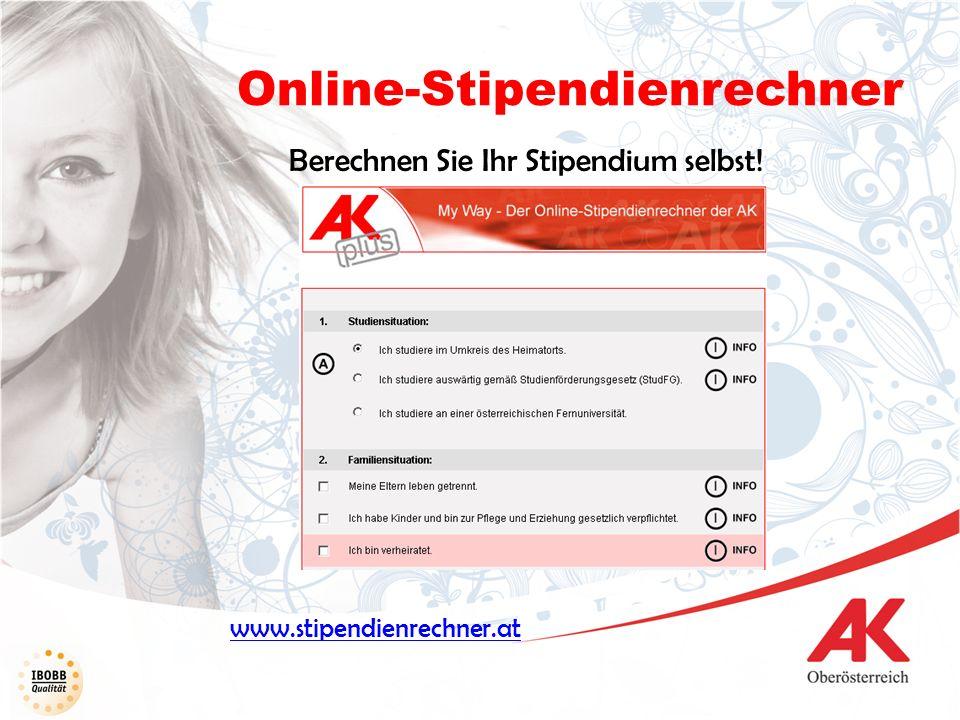 Online-Stipendienrechner