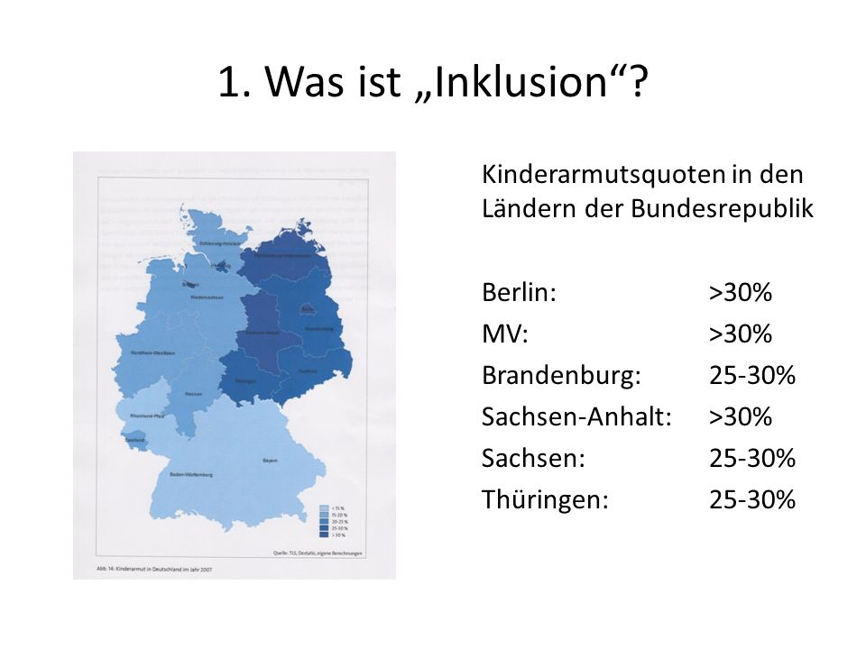 "1. Was ist ""Inklusion"