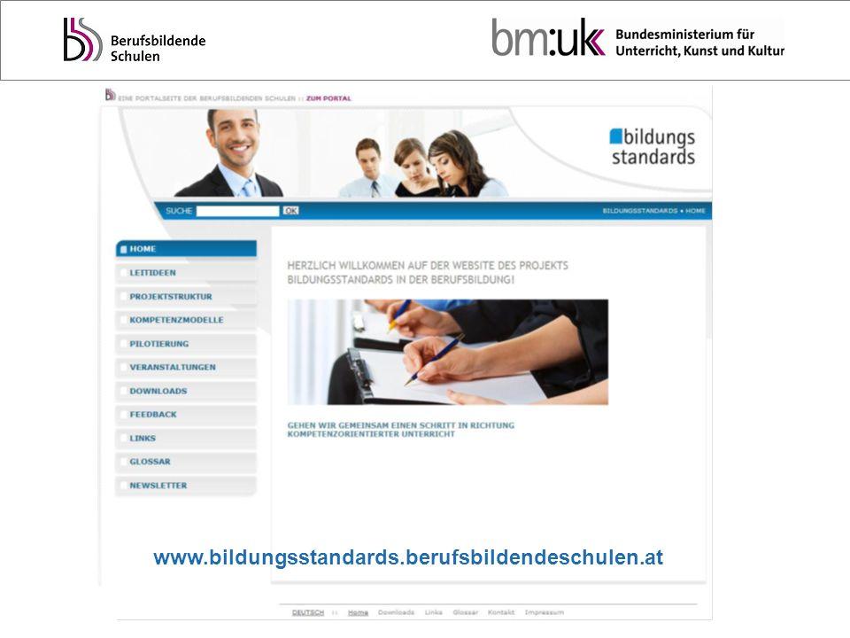 www.bildungsstandards.berufsbildendeschulen.at Ursula Fritz, BMUKK – Abt. II/7a