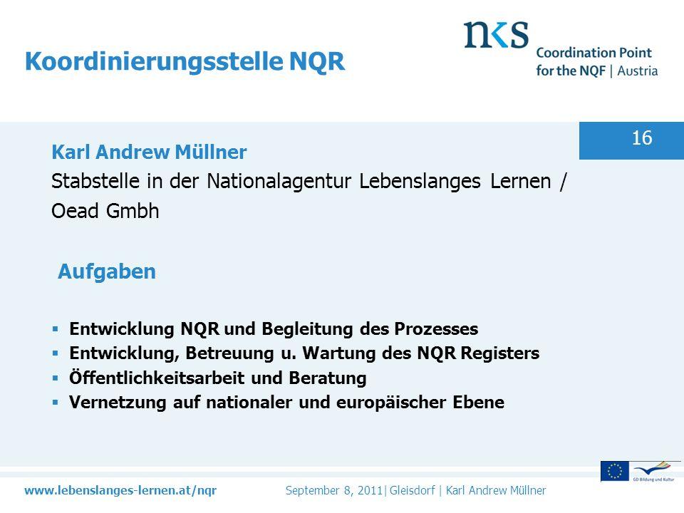 Koordinierungsstelle NQR