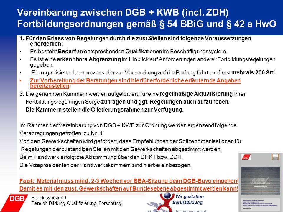 Vereinbarung zwischen DGB + KWB (incl