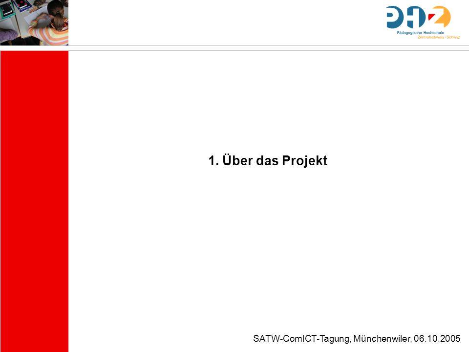 1. Über das Projekt