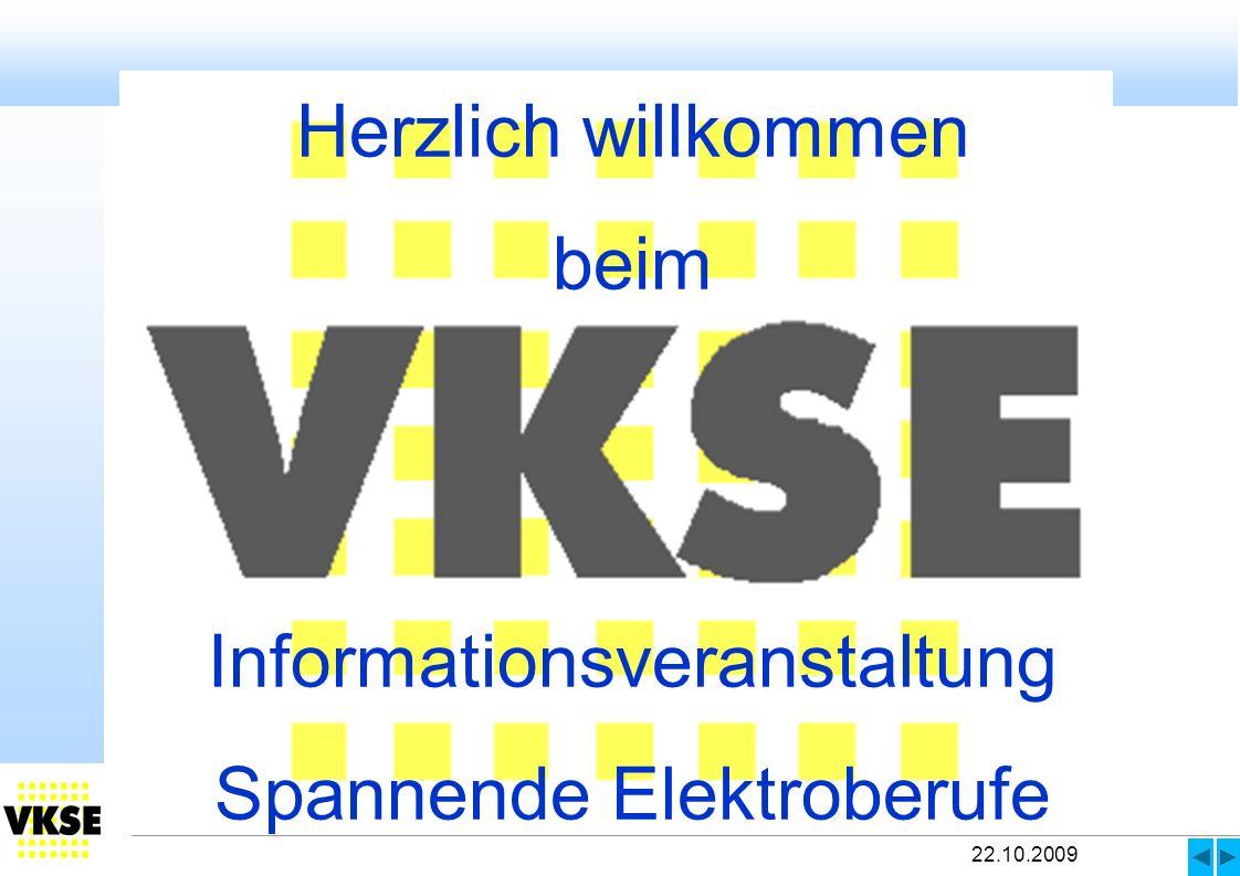 Informationsveranstaltung Spannende Elektroberufe